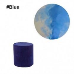 Kék - Színes füst torta bomba kerek hatás megjelenítése mágikus fotózás színpadi támogatás játék eszköz