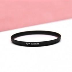 58mm - 52-82mm UV ultraibolya szűrő lencsevédő kamera Canon DSLR / SLR / DC / DV készülékekhez