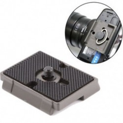 Fekete DSLR fényképezőgép állvány Quick Release QR lemez a Manfrotto 200PL-14 486 804 készülékhez