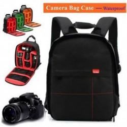 Új vízálló DSLR fényképezőgép tok hátizsák válltáska Canon / Nikon / Sony számára