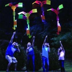 Glow Flying Dragonfly LED világít villogó szitakötő fél játékok gyerekek ajándék ÚJ