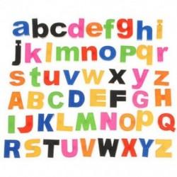 52 Mágneses betűk Alsó / felső tok ábécé Gyermekek Mágnesek Hűtőszekrény
