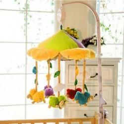 Rotary baba mobil kiságy ágy játék óramű mozgalom zene doboz gyerekek ágynemű játék
