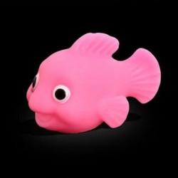 Rózsaszín - Rózsaszín LED fény POP Fürdőszoba Gyerek játékok Víz indukció Vízálló fürdőkád fürdő idejében