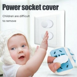 20Pcs / Set Power Socket kimeneti dugó védőburkolat Baby Child Safety Protector
