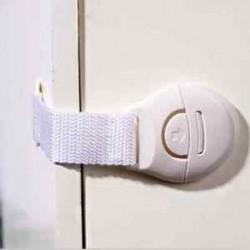 Gyermek gyerekek Kisgyermek baba biztonsági hűtőszekrény fiók ajtó szekrény szekrény zárak fehér J