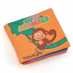 állatok - állatok Baby Kids Child Intelligence fejlesztése Cognize Soft Cloth Book oktatási játék