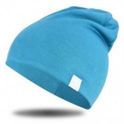 Kék - Kék Újszülött gyerekek baba téli meleg puha pamut kalap fiú lány csecsemő sapka sapka