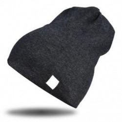 szürke - szürke Újszülött gyerekek baba téli meleg puha pamut kalap fiú lány csecsemő sapka sapka