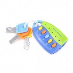 Zöld - Zöld Baba Kid zenei intelligens távirányító autó kulcsjáték autóhangok Pretend játék oktatási játékok