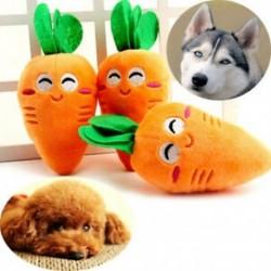 * 3 1PC sárgarépa (15X7CM) - * 3 1PC sárgarépa (15X7CM) Új kiskutya kutya macska fogászati fogak Egészséges fogak