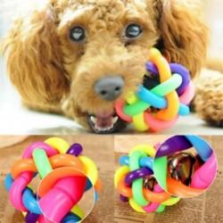 * 5 1db színes labda (6 cm) - * 5 1db színes labda (6 cm) Új kiskutya kutya macska fogászati fogak Egészséges fogak