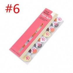 * 6 Cartoon Animal Panda macska Memo Pad matricák Öntapadó jegyzetek iskolai helyhez kötött eszköz