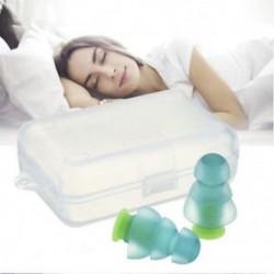 * 3 Tiszta Puha szilikon elleni zajhabos fül füldugó az úszás alvó munkapadhoz Újrafelhasználható Comfy