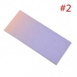* 2 40db színes szivárványos öntapadó jegyzetek rajzfilm írása diák tanulmány papír jegyzetfüzet