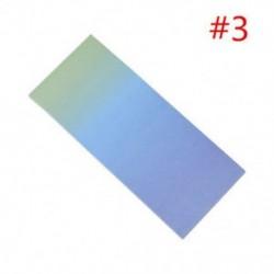 * 3 40db színes szivárványos öntapadó jegyzetek rajzfilm írása diák tanulmány papír jegyzetfüzet