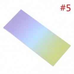 * 5 40db színes szivárványos öntapadó jegyzetek rajzfilm írása diák tanulmány papír jegyzetfüzet