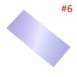 * 6 40db színes szivárványos öntapadó jegyzetek rajzfilm írása diák tanulmány papír jegyzetfüzet