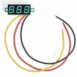 Kék 0,36`` Digitális DC0-100V LED kijelző Három vezetékes feszültségmérő