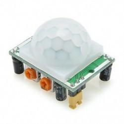 HC-SR501 Infravörös PIR mozgásérzékelő modul Arduino Málna pi-hez Új HC-SR501 Infravörös PIR mozgásérzékelő modul