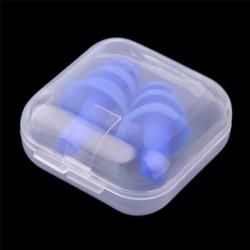 2 X szilikon füldugó Anti-Noise Snore füldugók tartek alvás közben ÚJ 2 X szilikon füldugó Anti-Noise Snore füldugók