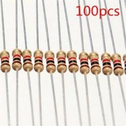 100 PCS készlet 1 / 4W 0,25W 5% 1 K OHM szénfólia ellenállás 1. osztályú postaköltség Hot 100 PCS készlet 1 / 4W