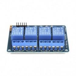 4 CH optocsatolóval (kék) 1/2/4/8 Channel 5V relé kártya modul Optikai csatlakozó LED az Arduino PiC ARM AVR