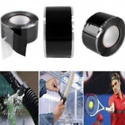 2,5 * 150 cm-es szilikon gumi javítószalag ragasztó mentési önbefúvó huzal vízálló 2,5 * 150 cm-es szilikon gumi