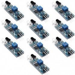 5X-es infravörös infravörös riasztás az Arduino intelligens autórobothoz 5X-es infravörös infravörös akadály