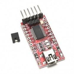 1x 3.3V 5.5V FT232RL USB-TTL soros adapter modul az Arduino Mini Porthoz 1x 3.3V 5.5V FT232RL USB-TTL soros adapter modul az