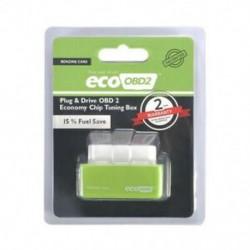 Zöld Eco OBD2 Benzin energiafogyasztás üzemanyag-megtakarító tuning doboz Chip autós gázmegtakarításhoz jp