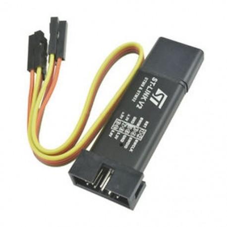 1db ST-Link V2 programozó egység mini STM8 STM32 emulátor Downloader M89 Új  1db ST-Link V2 programozó egység mini STM8