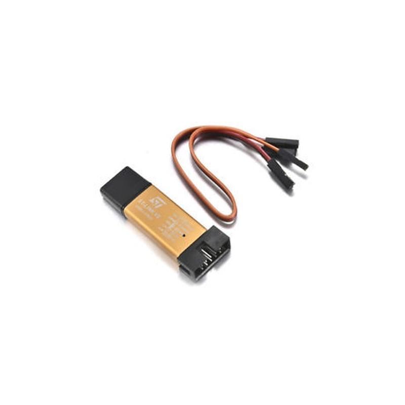 1db ST-Link V2 programozó egység mini STM8 STM32 emulátor Downloader