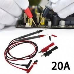 Többméteres multiméteres digitális tesztvezeték-vezeték-vezeték kábel W / alligátor csipesz Többméteres