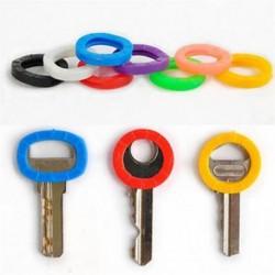 8X szilikon üreges kulcsfedélburkolat fedezi a Topper kulcstartót Bly Braille fényes színekkel