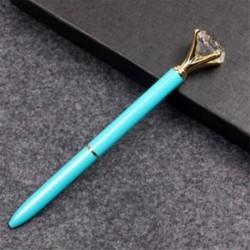 * 4 1PC kék (BLACK tinta) Aranyos gél toll golyóstoll színes levélpapír írás jel gyermek iskola irodai eszköz