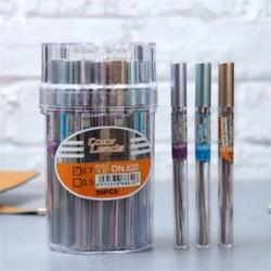 18db / cső 0.7mm automatikus mechanikus ceruza utántöltő színes vezető iskolai papíráru