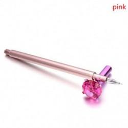 * 5 1PC Pink (fekete tinta) Szép gél toll golyóstoll színes levélpapír írás jel gyermek iskola iroda