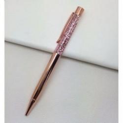 Rózsaarany színű golyóstoll - Iskolába - Kreatív íráshoz - Díszítéshez - 9