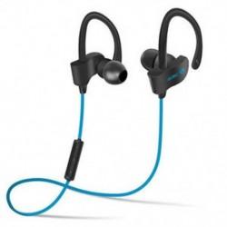 Kék Univerzális vezeték nélküli Bluetooth fülhallgató Sport sztereó fülhallgató fejhallgató Kézzel szabad JP