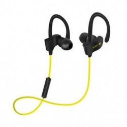 Sárga Univerzális vezeték nélküli Bluetooth fülhallgató Sport sztereó fülhallgató fejhallgató Kézzel szabad JP