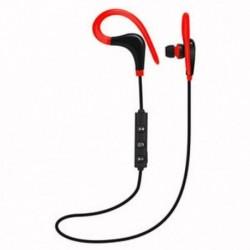 * 3 Vörös Univerzális vezeték nélküli Bluetooth fülhallgató Sport sztereó fülhallgató fejhallgató Kézzel szabad JP