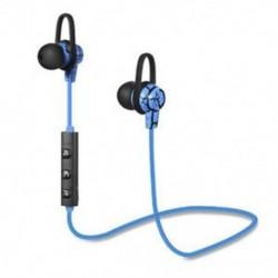 * 4 Kék Univerzális vezeték nélküli Bluetooth fülhallgató Sport sztereó fülhallgató fejhallgató Kézzel szabad JP