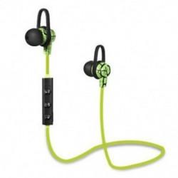 * 4 Zöld Univerzális vezeték nélküli Bluetooth fülhallgató Sport sztereó fülhallgató fejhallgató Kézzel szabad JP