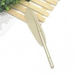 Arany Vágja a tollal ellátott zselés tollak irodai iskolai diákjait írószerek születésnapi ajándékba