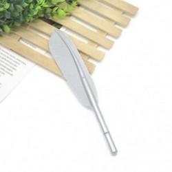 Ezüst Vágja a tollal ellátott zselés tollak irodai iskolai diákjait írószerek születésnapi ajándékba