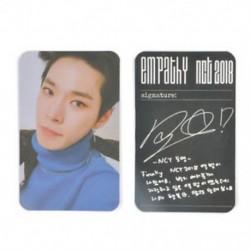 86 x 54mm-es Doyoung fotó autogrammal - LOMO kártya - KPOP - NCT - 2