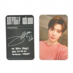 86 x 54mm-es Jaehyun fotó autogrammal - LOMO kártya - KPOP - NCT - 2
