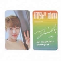 86 x 54mm-es Jaemin fotó autogrammal - LOMO kártya - KPOP - NCT - 1