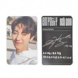86 x 54mm-es Renjun fotó autogrammal - LOMO kártya - KPOP - NCT - 1